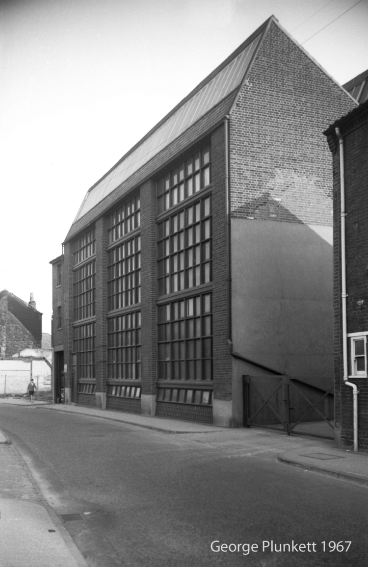 Botolph St 30 to 34 Chamberlin's factory [5142] 1967-05-16