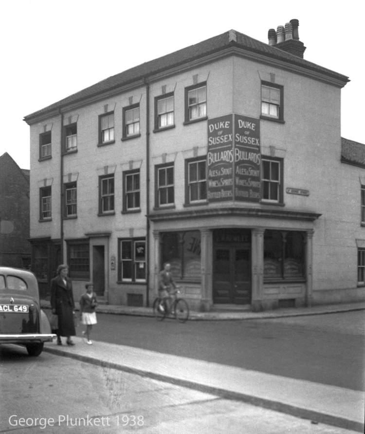 Botolph St 40 to 42 Duke of Sussex PH [2675] 1938-08-03