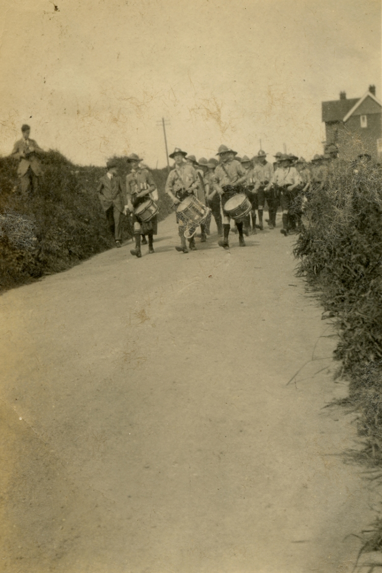 Church Parade Mundesley 1919a