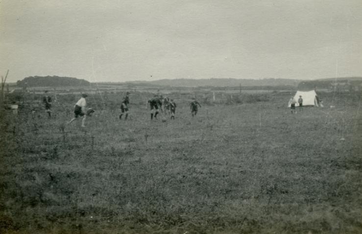 Handball at Cromer 1921a