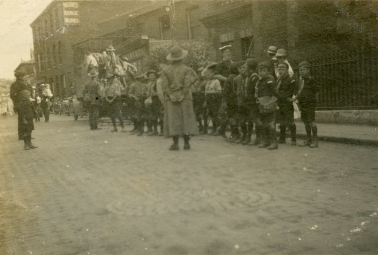 off to Mundesley 1919a