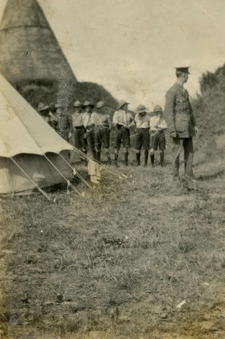 Tent inspection 1919a