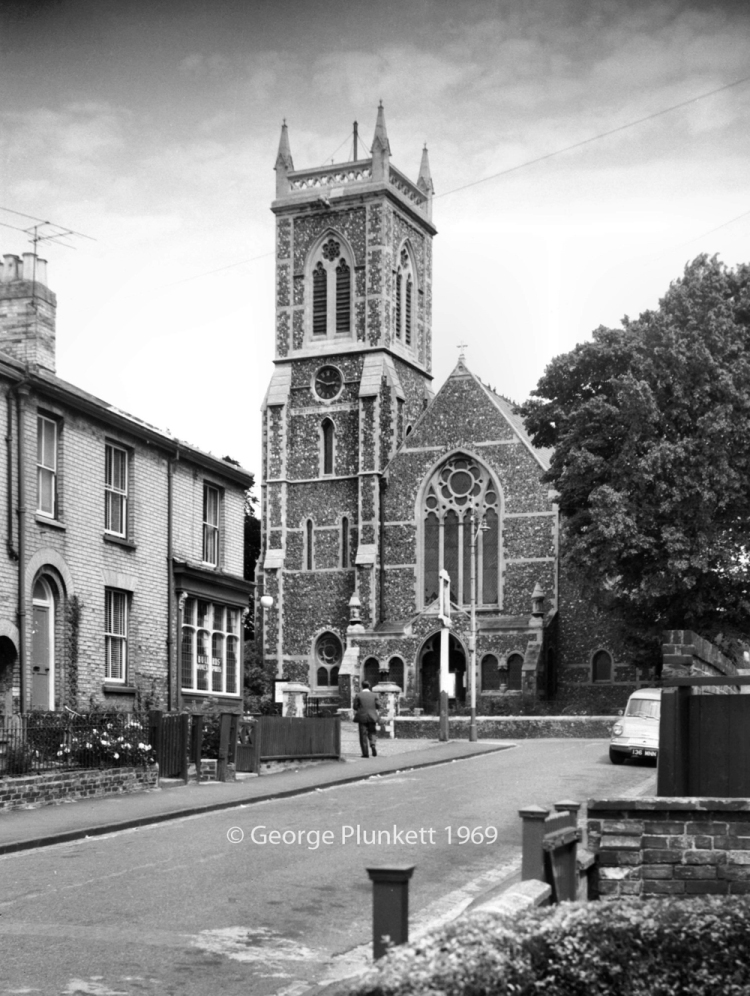 St Philip's Heigham from Stafford St [4689] 1962-07-01x
