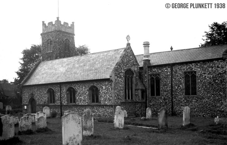 St Bartholomew's Heigham from SE [2423] 1938-05-23
